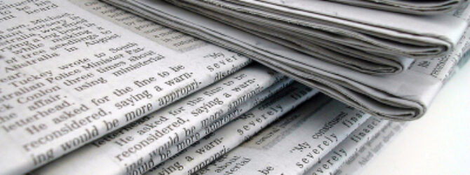 Are We into Newspaper Eschatology?