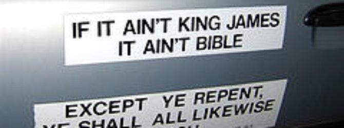 King James Verson: Original or Not?