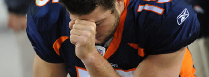 Thank the Lord for Tim Tebow