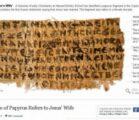 Scholars play down Jesus wife text