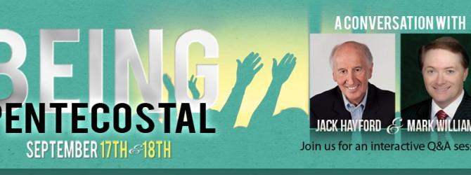 Being Pentecostal (September 17-18)