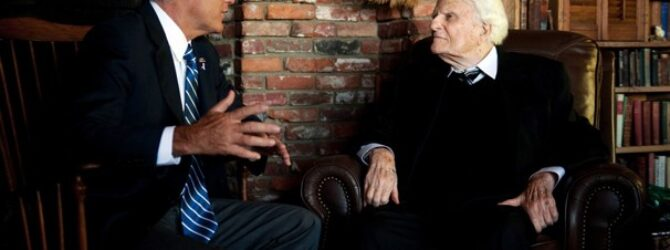 Billy Graham buys election ads after Romney meeting
