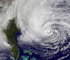 Hurricane Sandy makes a left turn, takes aim at New Jersey