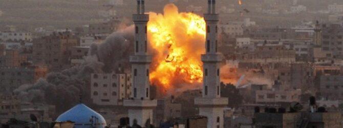 Israel strikes media buildings in Gaza, expanding its range of targets