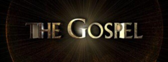 A Reminder Of The Gospel