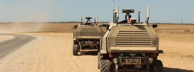 Always Watching: The IDF Unmanned Ground Vehicle
