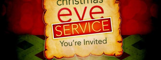 Christmas Eve Service #ourCOG