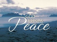 How to pray powerfully for peace
