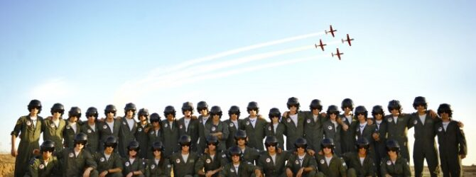 IDF New's Pilots Join the Ranks of the Air Force