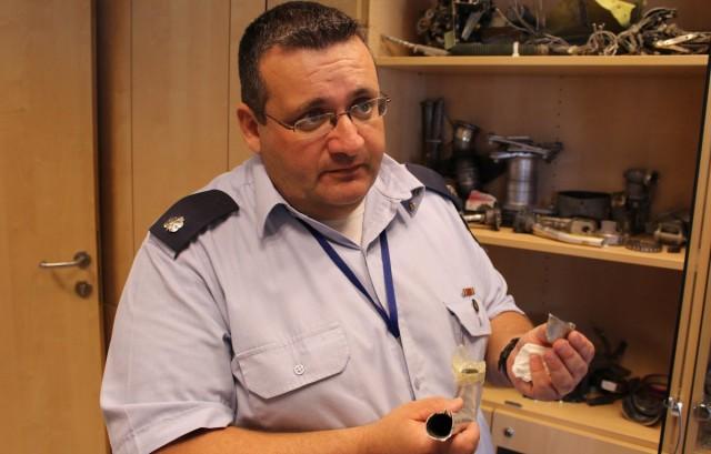 Maj. Albert Schmidt - Israel Air Force accident investigator