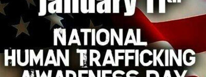 Human Trafficking Awareness Day #ourCOG
