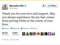 Pope's Final Tweet