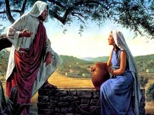 Jesus And Woman At Well1
