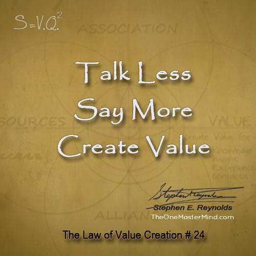 Value-24TalkLess1