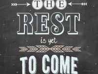 #ourCOG The REST is yet to come…