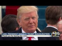 2017 Inauguration: We will be protected by God