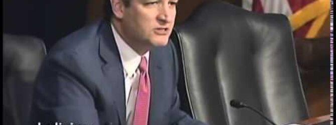Sen. Cruz Files Bills to Protect the Individual Right to Free Speech