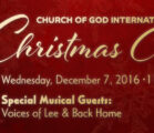 Join COGIO–December Chapel–Christmas Special–11am Live Stream