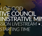Church of God  Executive Council LIVE