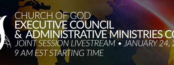 Church of God  Executive Council LIVE