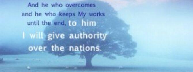 Rev 2:26-27