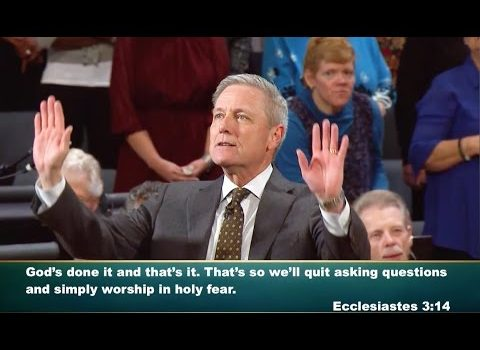 """""""Quit Asking Questions"""" Loran Livingston, Central Church, March 26, 2017 Charlotte, NC"""