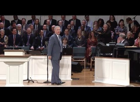 """""""It's not about you"""" Loran Livingston, Central Church April 23, 2017"""