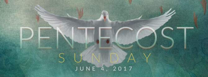 Pentecost Sunday Promotional Resource Release