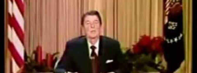 Christmas Address of President Ronald Reagan (1981)