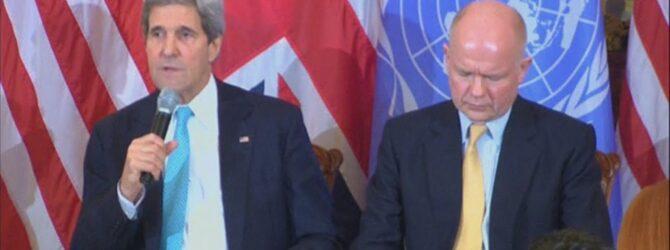 Kerry: No 'Cold war' over Ukraine