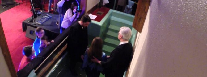 My Daughter's Baptism!  – A Father's Journal