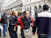 Police violence in Sofia, Bulgaria