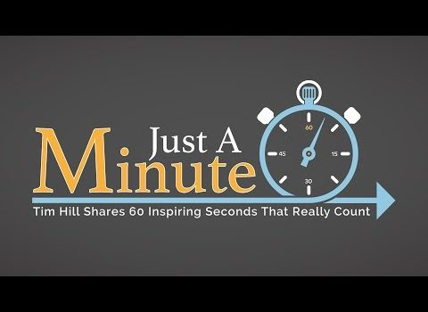 Just a Minute with Dr. Tim Hill – Episode 18