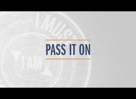 """Pass It On"" with Jentezen Franklin"