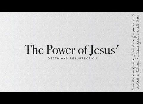 """The Power of Jesus Death and Resurrection"" with Jentezen Franklin"