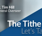 The Tithe of Tithes: A Special Memorandum from Dr. Tim Hill,  Church of God