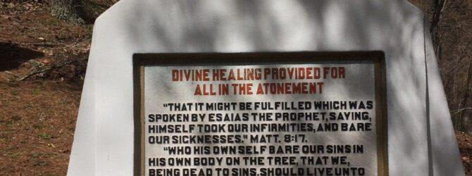 DIVINE HEALING in the Fields of the Wood at Prayer Mountain in Murphy, NC
