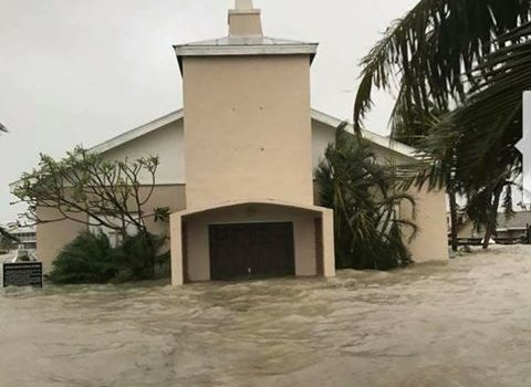 Chokoloskee Church of God and Everglades City still under water