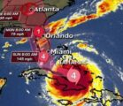 NEW PATH of Hurricane Irma as it nears Florida