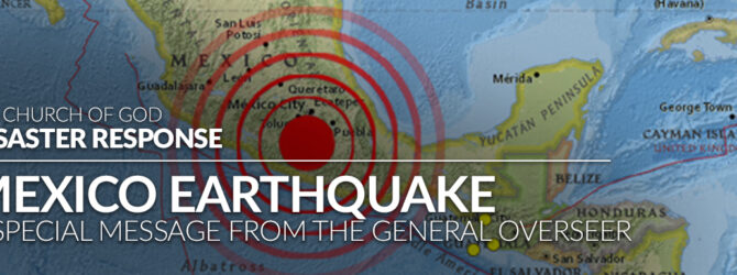 Prayer Needed for Area Hit by Earthquake