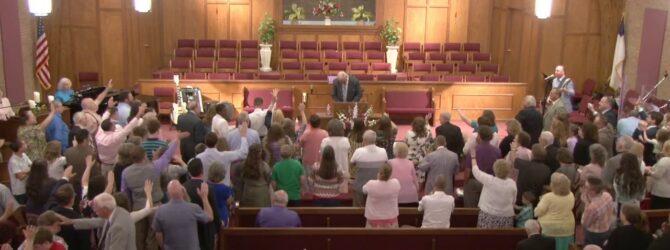 """God's Presence, Lost and Found"" Evangelist J. Darrel Turner CampMeeting Evening Service 06/17/18"