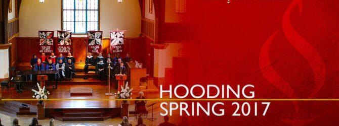 Lee University Graduate Hooding Spring 2017