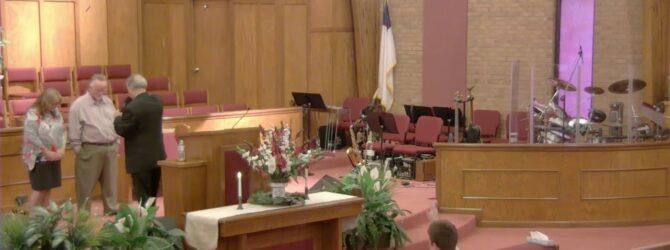 """Spiritual Saints"" Pastor D. R. Shortridge Sunday Morning Service 6/10/18"