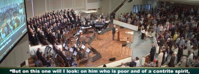"""Tremble"" pastor Loran Livingston, Central Church, May 27, 2018"