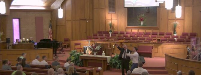 """Holy Unction""  Pastor D.R. Shortridge  Sunday Evening Service 7/14/19"