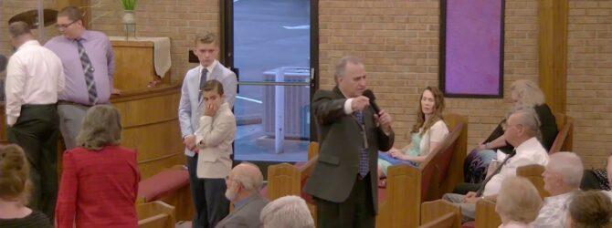 """The Different Purposes Of Satan"" Pastor D.R. Shortridge Sunday Evening Service 7/21/19"