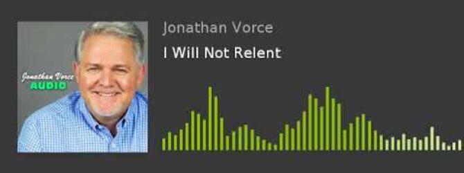 I Will Not Relent