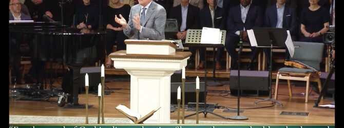 """""""Let the Word Do the Work"""" pastor Loran Livingston, August 9, 2019"""