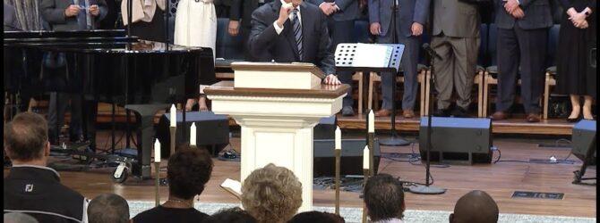 """When?"" pastor Loran Livingston, August 25, 2019, Central Church, Charlotte, NC"