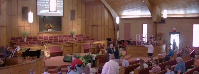 """""""Being Obedient To God's Will"""" Sunday Morning Service 9/29/19 Pastor D.R. Shortridge"""